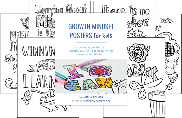 The best growth mindset posters for kids