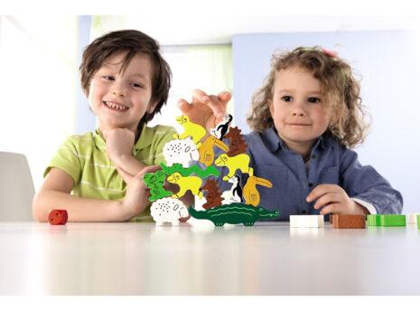 Animal Upon Animal: Board Game for Kids