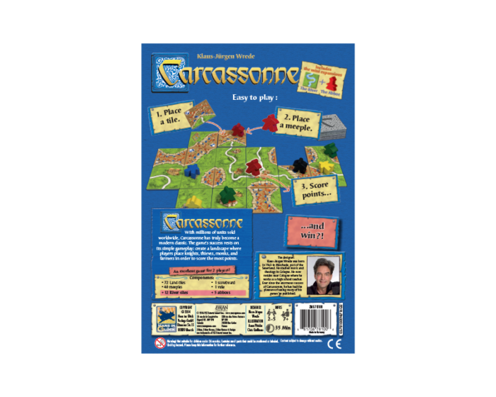 Carcassonne: Board Game for Kids