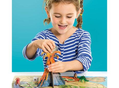 Dinosaur Escape: Board Game for Kids