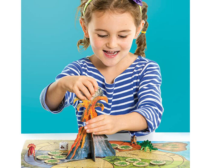 Dinosaur Escape: Board Game for Kids