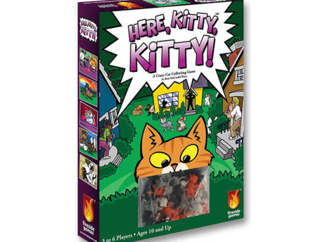 Here, Kitty, Kitty: Board Game for Kids