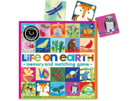 Life on Earth: Memory + Matching Game for Kids