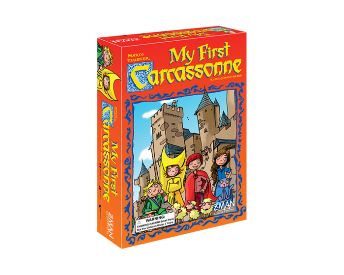 My First Carcassonne: Board Game for Kids