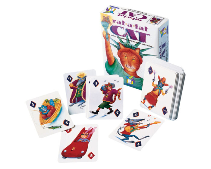 Rat-a-Tat Cat: Card Game for Kids
