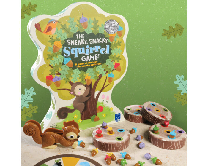 The Sneaky, Snacky Squirrel Game for Kids