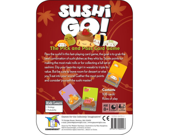 Sushi Go: Card Game for Kids