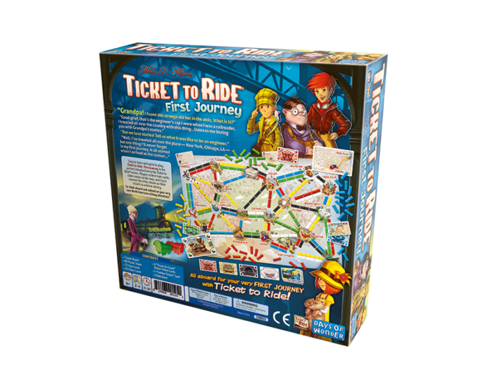 Ticket to Ride: First Journey - Board Game for Kids