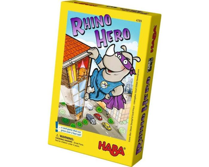 Rhino Hero: Board Game for Kids